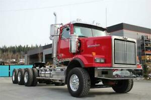 2016 Western Star 4900SA Tri-Drive with 18 Spd Auto Double Frame