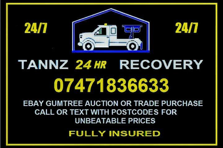 TANNZ 24HR RECOVERY BRAKEDOWN VEHICLE DELIVERY SERVICE