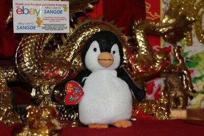 "TY 2.0 BEANIE BABY CHILL THE PENGUIN-6""-UNUSED CODE-2007-MWNMT-NICE GIFT"