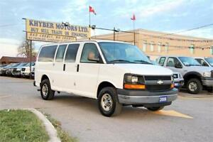 2008 Chevrolet Express 10 Passenger LS|Certified|2 Year W