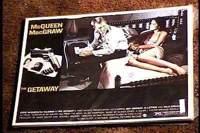 GETAWAY 1972 LOBBY CARD #4 STEVE MCQUEEN