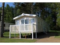 Fabulous 2017 Willerby Peppy static caravan for sale at Percy Wood Country Park