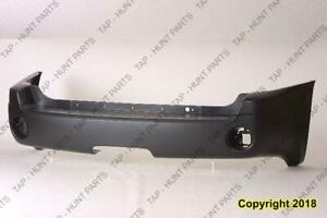 Bumper Rear Primed CAPA GMC Envoy 2002-2009