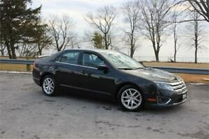2010 Ford Fusion SEL-LEATHER|SUNROOF|HEATED SEATS|VERY LOW KMS