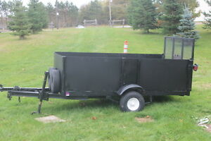 Steel box Utility trailer