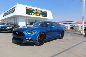 2017 Ford Mustang V6 - MANUAL - WWW.PAULETTEAUTO.COM