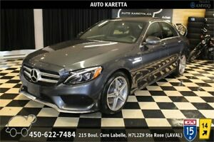 2016 MERCEDES-BENZ 4MATIC SPORT AMG/NAVI/LED/PANORAMIC/CAM