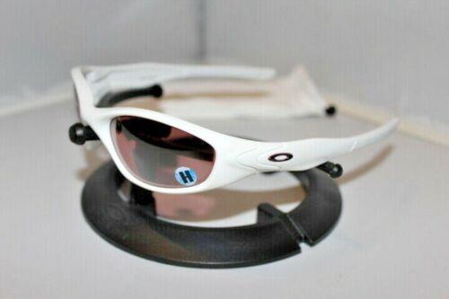 New Oakley Minute 2.0 Sunglasses Polished White/G30 Black 04-519 Rare 2007