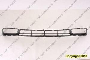 Grille Lower With Fog Lamp Hole Black [Sedan 2006-2011] [Hatchback 2007-2011] Hyundai Accent