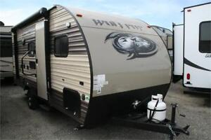 2018 WOLF PUP 16BHS!BUNKS!SPRING STORAGE!FULL WARRANTY