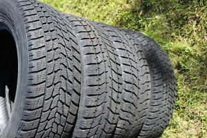 17  225/ 65 / 17 in WINTER TIRES in very good condition West Island Greater Montréal image 2