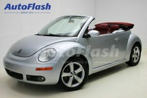 2009 Volkswagen New Beetle Highline Silver-Red-Edition Cabriolet