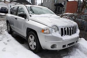 2007 JEEP COMPASS 4X4 AUTOMATIQUE GARANTIE 12 MOIS