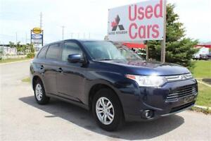 2014 Mitsubishi Outlander ES *WARRANTY *GREAT ON GAS