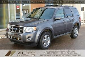 2011 Ford Escape LIMITED ** AWD ** LEATHER ** MOONROOF ** LOW KM