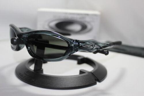 New Oakley Unknown Sunglasses Crystal Black/Dark Grey 30-660
