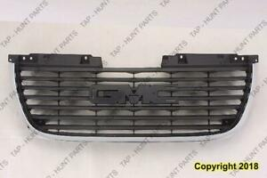Grille Without Denali Package GMC Yukon 2007-2011