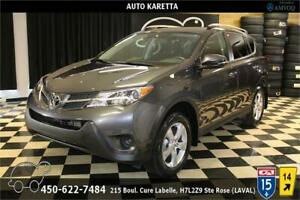 2015 TOYOTA RAV4 LE AWD, 45.188 KM, CAMERA, A/C, BLUETOOTH, MAGS