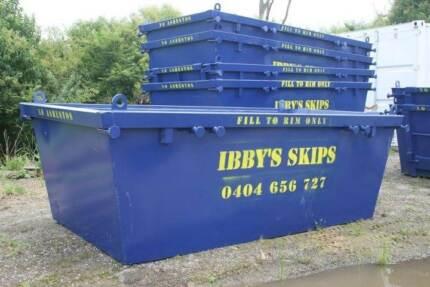 IBBYS SKIP BINS - BLACKTOWN AREA - CHEAP SKIP BIN HIRE 4 WESTIES