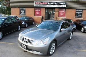 2008 INFINITI G35 Sedan Sport - ACCIDENT FREE - GET APPROVED NOW