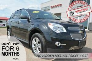 2014 Chevrolet Equinox LT- Leather, Backup Camera, Sunroof