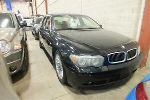"""2004 BMW 7 Series 745i """"AS IS"""""""
