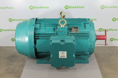 200/150HP 3600RPM - BROOK CROMPTON 1DN NSNB - 200/150 HP ELECTRIC MOTOR 3580/298