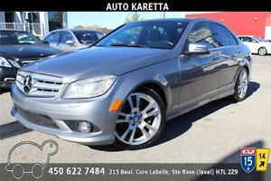 2010 MERCEDES C350 4MATIC/AWD NAVIGATION,TOIT PANORAMIQUE,XENON