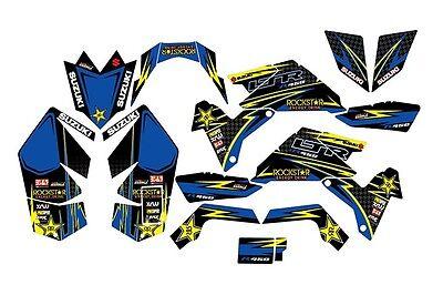 Suzuki Ltr 450 Atv Stickers Decals Graphics Kit 2006 2014 Graphic Kit Stickers