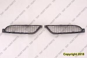 Grille Matt-Black Passenger Side Coupe/Spyder Mitsubishi Eclipse 2006-2008