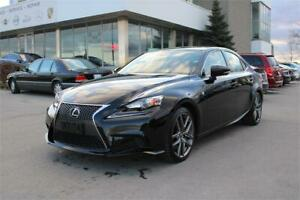 2016 Lexus IS 300 AWD|F-SPORT| NO ACCIDENT| ONE OWNER