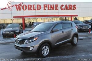 2012 Kia Sportage 6-speed manual