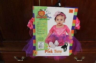 Pink Tutu Child Halloween Costume- 6-9 Month girls costume - 6 Month Girl Halloween Costumes