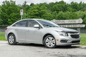 2015 Chevrolet Cruze 1LT/ Car Loans Available  For Any Credit