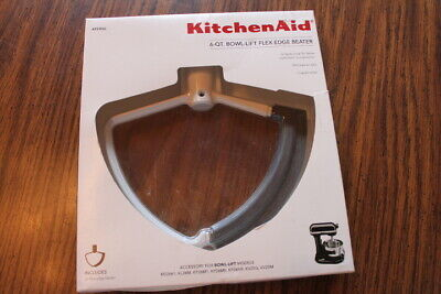 KitchenAid Bowl-Lift Flex Edge Beater 6 Qt.Model KFEW6L New in Package Free Ship