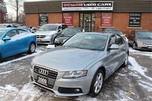 2009 Audi A4 Quattro *ACCIDENT FREE | YOU ARE APPROVED*