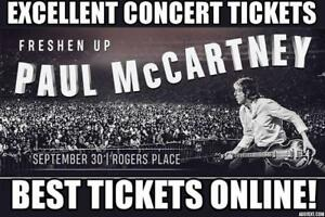 ONE SHOW ★★Paul McCartney ★★Rogers Place, SUN Sep 30 8PM★★