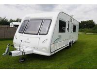 2009 Compass Rallye 650/4 4 Berth Caravan Twin Single Beds