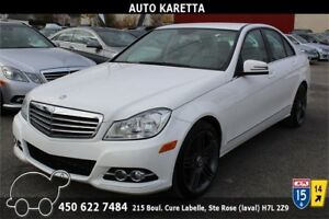 2013 MERCEDES-BENZ C300 4MATIC/AWD, 79.331KM, CLEAN CARPROOF