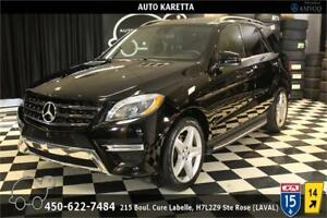 2015 MERCEDES ML350 BLUETEC SPORT AMG/NAVI/PANO/CAMERA/MAGS