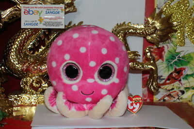 "TY BEANIE BOOS OLLIE THE OCTOPUS.6""X7"".MEDIUM BUDDY.2014.MWNMT.NICE GIFT"