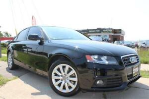 2012 Audi A4 2.0T AWD/Leather/Bluetooth/Sunroof