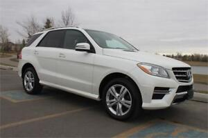 2015 Mercedes ML 350 BLUETEC Perfect Condition Winter Tires