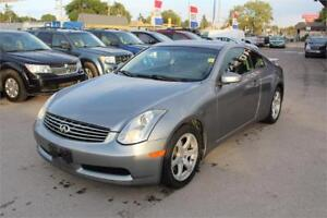 2007 INFINITI G35 Coupe **REDUCED WINTER PRICE**