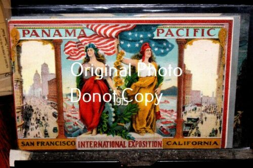 #D2521,Seldom Seen Pan Pacific Expo 1915 Expo Poster Cd
