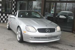 1999 Mercedes-Benz SLK230 Convertible 34K's Supercharged 194hp L