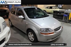 *Safetied* 2007 Chevrolet Aveo LT *Only $169/mth on 3 year term!