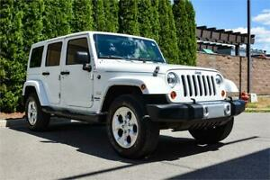 2013 Jeep Wrangler Unlimited Sahara | Automatic | Low Kms