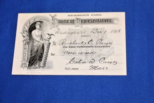 Signed House of Representatives Member
