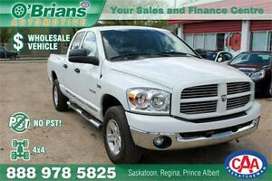 2008 Dodge Ram 1500 SLT - No PST! Wholesale Unit